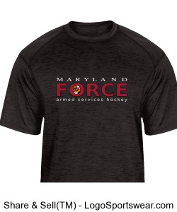 MD Force Tonal Tee Design Zoom